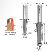 EOASAW - Amana Tool 3°, 5°, and 7° Carbide-Tipped Patternmakers