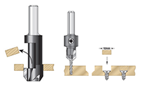 Amana-countersink-plug-set