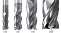 Amana Altin coated CNC Multi Helix Spiral End Mills main